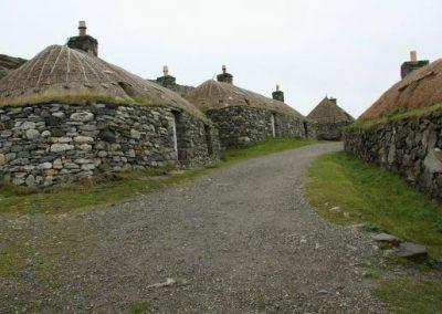 Blackhouses at Gearannan
