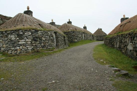Blackhouses at Gearannan